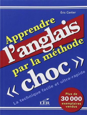 Couverture du livre « Apprendre l'anglais par la méthode