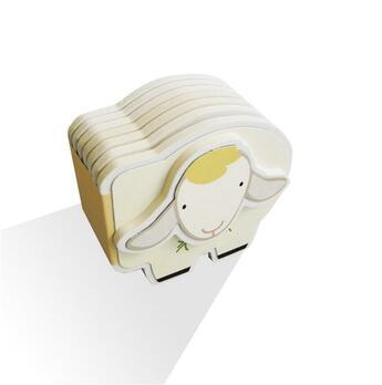 Couverture du livre « Animaux mousse : le mouton » de Collectif aux éditions Lito