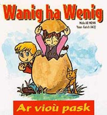Couverture du livre « Ar viou pask » de Yann-Fanch Jacq et Malo Ar Menn aux éditions Keit Vimp Bev