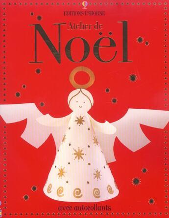 Couverture du livre « Atelier De Noel » de Fiona Watt aux éditions Usborne