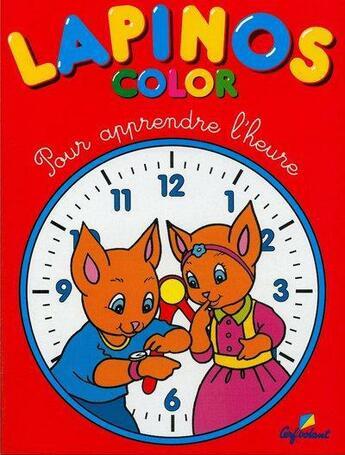Couverture du livre « Apprend l'heure » de Collectif aux éditions Cerf Volant