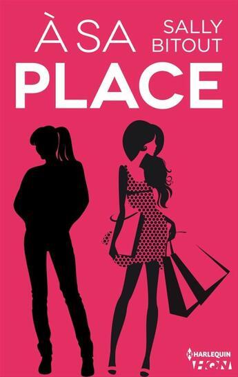 Couverture du livre « À sa place » de Sally Bitout aux éditions Hqn