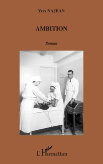 Couverture du livre « Ambition » de Yves Najean aux éditions L'harmattan