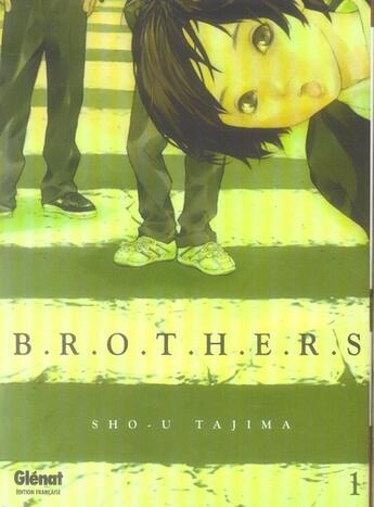 Couverture du livre « Brothers t.1 » de Sho-U Tajima aux éditions Glenat