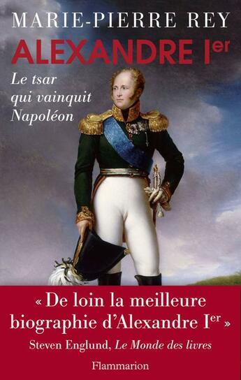 Couverture du livre « Alexandre 1er » de Marie-Pierre Rey aux éditions Flammarion