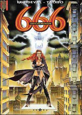 Couverture du livre « 666 t.1 ; ante demonium » de Francois Froideval et Franck Tacito aux éditions Glenat