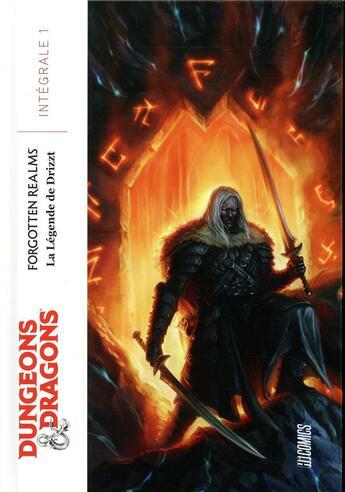Couverture du livre « Dungeons & Dragons ; la légende de Drizzt ; intégrale de la trilogie de l'elfe noir » de Andrew Dabb et R. A. Salvatore et Tim Seeley aux éditions Hicomics