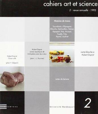 Couverture du livre « Cahiers Art Et Science 2 » de  aux éditions Confluences