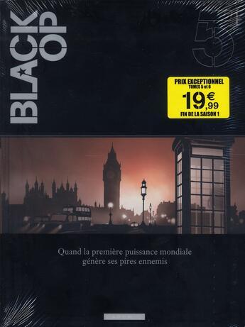 Couverture du livre « Black OP - saison 1 ; COFFRET VOL.3 ; T.5 ET T.6 » de Hugues Labiano et Stephen Desberg aux éditions Dargaud