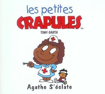 Couverture du livre « Agathe s'eclate » de Tony Garth aux éditions Mango
