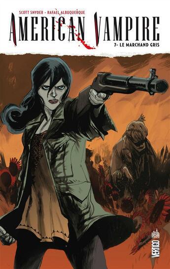 Couverture du livre « American vampire t.7 ; le marchand gris » de Scott Snyder et Rafael Albuquerque aux éditions Urban Comics