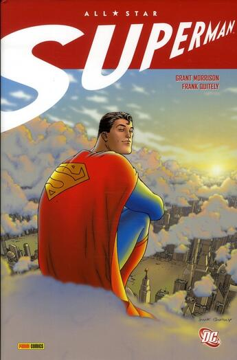 Couverture du livre « All star Superman » de Morrison et Frank Quitely aux éditions Panini
