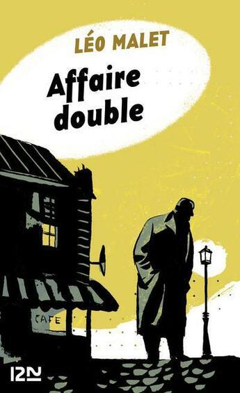 Couverture du livre « Affaire double » de Leo Malet aux éditions 12-21