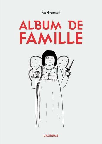 Couverture du livre « Album de famille » de Asa Grennvall aux éditions L'agrume