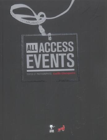 Couverture du livre « All events all access » de Gaelle Ghesquiere aux éditions Altinea