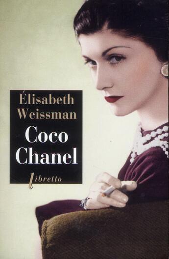 Couverture du livre « Coco Chanel » de Elisabeth Weissman aux éditions Libretto