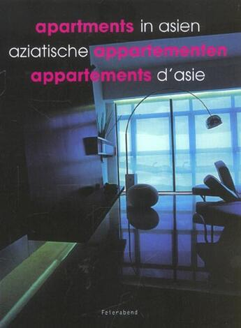 Couverture du livre « Asian Apartments » de Collectif aux éditions Feierabend