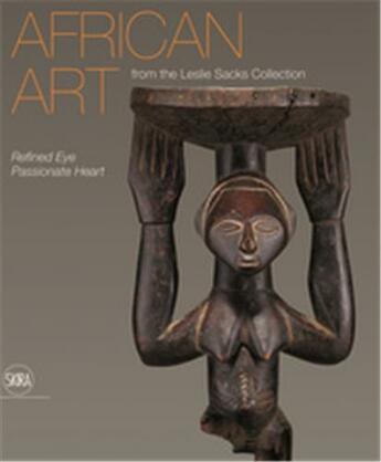 Couverture du livre « African art from the leslie sacks collection » de Maples Amanda M. aux éditions Skira