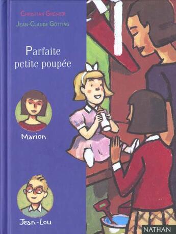 Couverture du livre « Parfaite Petite Poupee » de Christian Grenier aux éditions Nathan