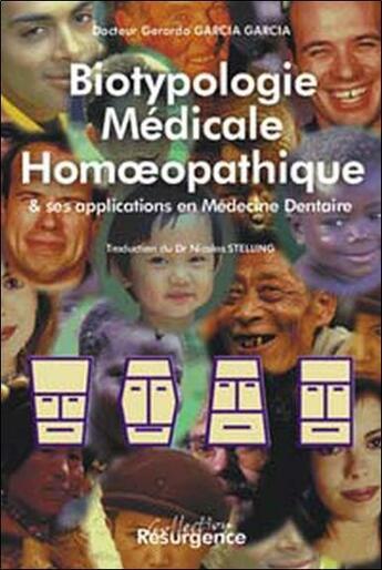 Couverture du livre « Biotypologie medicale en homeopathie » de Garcia G. Gerardo aux éditions Pietteur Marco