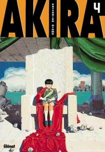 Couverture du livre « Akira (noir et blanc) - tome 04 » de Katsuhiro Otomo aux éditions Glenat