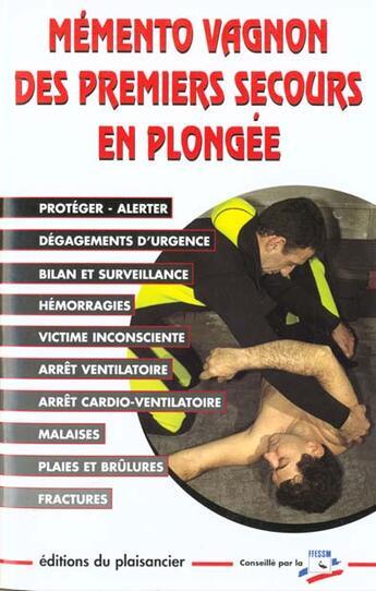 Couverture du livre « Memento des premiers secours » de Collectif aux éditions Vagnon