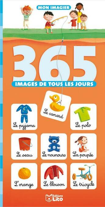Couverture du livre « 365 Images De Tous Les Jours » de Collectif aux éditions Lito