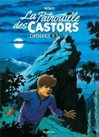 Couverture du livre « La patrouille des castors ; INTEGRALE VOL.8 ; 1990-1994 » de Marc Wasterlain et Mitacq aux éditions Dupuis