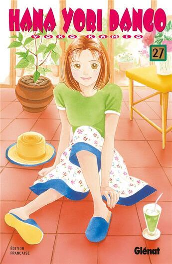Couverture du livre « Hana yori dango t.27 » de Kamio aux éditions Glenat