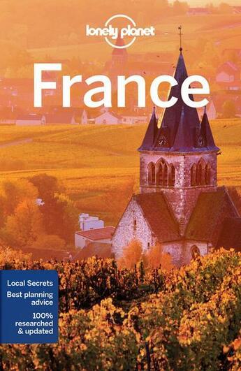 Couverture du livre « France (12e édition) » de Collectif Lonely Planet aux éditions Lonely Planet France