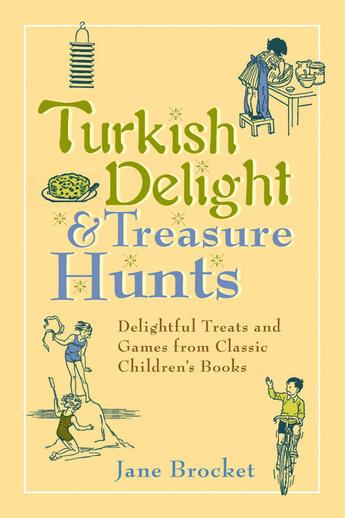 Couverture du livre « Turkish Delight & Treasure Hunts » de Brocket Jane aux éditions Penguin Group Us
