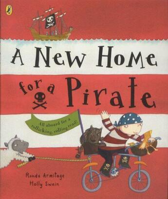 Couverture du livre « A NEW HOME FOR A PIRATE » de Armitage & Swain Ill aux éditions Children Pbs
