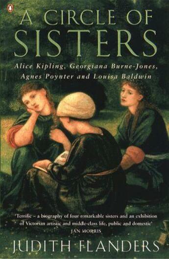 Couverture du livre « A Circle Of Sisters: Alice Kipling, Georgiana Burne-Jones, Agnes Poynter And Louisa Baldwin » de Flanders Judith aux éditions Adult Pbs