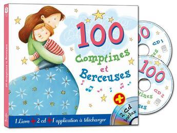 Couverture du livre « 100 comptines et berceuses » de Collectif aux éditions Formulette