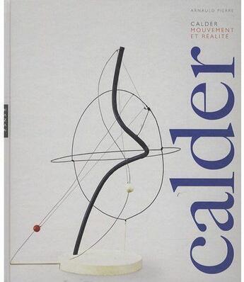 Couverture du livre « Calder » de Pierre-A aux éditions Hazan