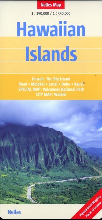 Couverture du livre « **hawaiian islands » de Collectif aux éditions Nelles