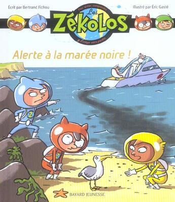 Couverture du livre « Alerte a la maree noire » de  aux éditions Bayard Jeunesse
