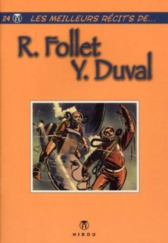 Couverture du livre « Meilleurs récits t.24 ; Follet/Duval » de Follet aux éditions Hibou