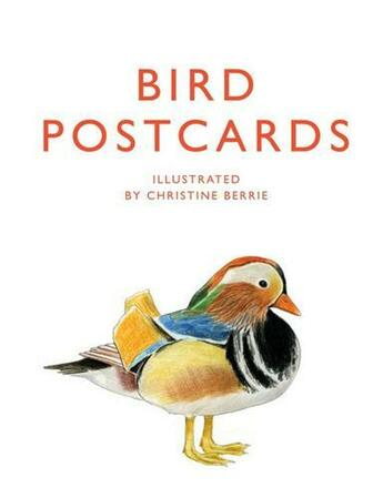 Couverture du livre « Bird Postcards /Anglais » de Berrie Christine aux éditions Laurence King