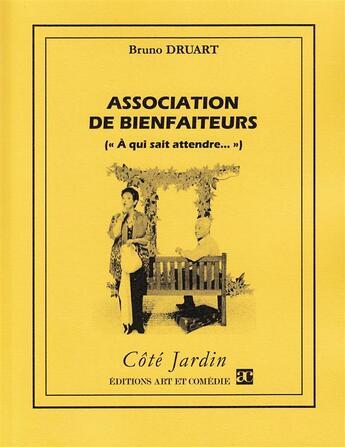 Couverture du livre « Association de bienfaiteurs (