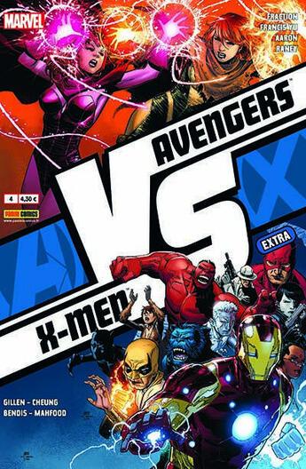 Couverture du livre « Avengers VS X-Men extra N.4 » de Collectif aux éditions Panini Comics Mag
