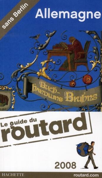Couverture du livre « Allemagne (édition 2008/2009) » de Collectif aux éditions Hachette Tourisme