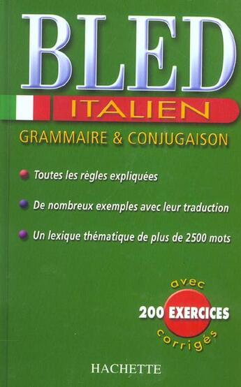 Couverture du livre « Cahiers Bled » de C Boi et D Gas aux éditions Hachette Education