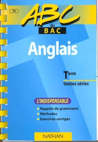 Couverture du livre « Anglais ; L'Indispensable » de Collectif aux éditions Nathan