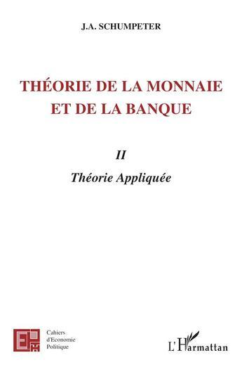 Couverture du livre « Cahiers D'Economie Politique » de Joseph Aloys Schumpeter aux éditions L'harmattan