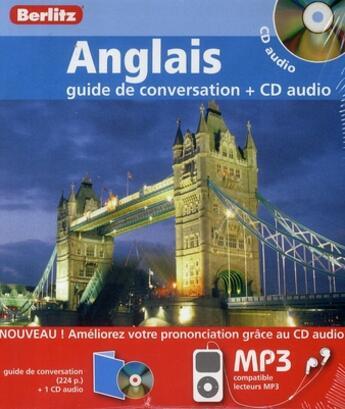 Couverture du livre « Anglais Coffret Guide De Conversation + Cd Audio » de Collectif aux éditions Berlitz