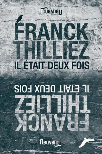 Couverture du livre « Il était deux fois » de Franck Thilliez aux éditions Fleuve Noir