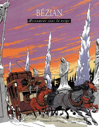 Couverture du livre « Adam Sarlech T.3 ; Testament Sous La Neige » de Frederic Bezian aux éditions Humanoides Associes