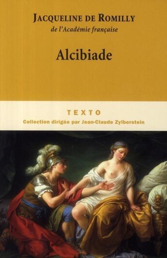 Couverture du livre « Alcibiade » de Jacqueline De Romilly aux éditions Tallandier