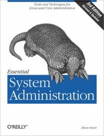 Couverture du livre « Essential system administration (3e édition) » de Aeleen Frisch aux éditions O Reilly